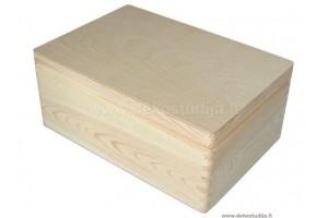 Medinė dėžė su dangčiu didelė 1349