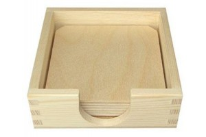 Trays for cups with case 1007