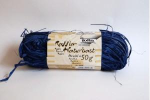Juostelė dekoravimui rafija mėlyna F9036