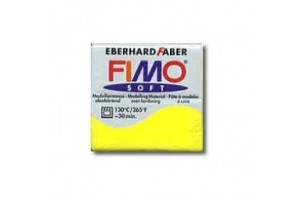 Fimo Soft 56 g. Nr.10 Lemon