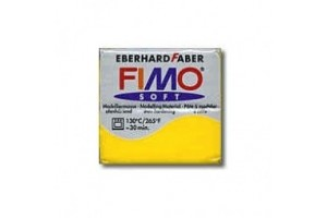 Fimo Soft 56 g. Nr.16 Sun yellow