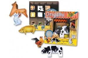 """Origami - rankdarbių rinkinys """"Fermos gyvūnai"""" F91101"""