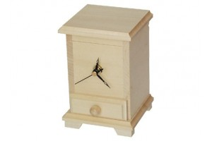 Clock with with drawer 1366