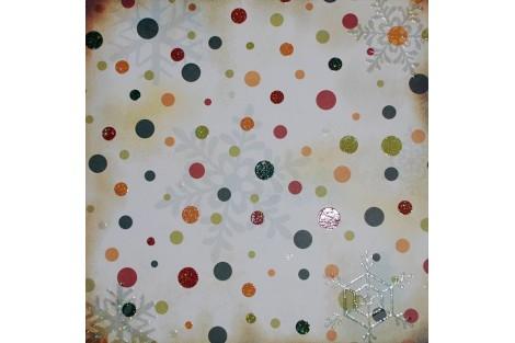 Decoration paper 30,5x30,5 cm. 5 pcs., F10504