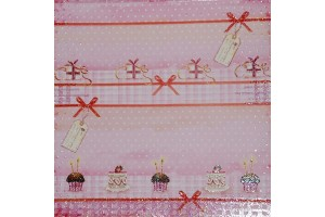 Decoration paper 30,5x30,5 cm., 5vnt.,  F10202