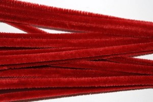 Fluffy Wire 50 cm. 10 pcs. Bordo F77822