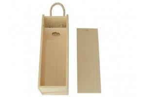 Medinė vyno dėžė 1043