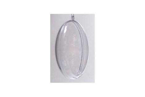 Plastic medallion 9 cm.