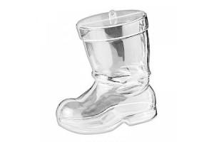 Plastic shoe 10 cm.