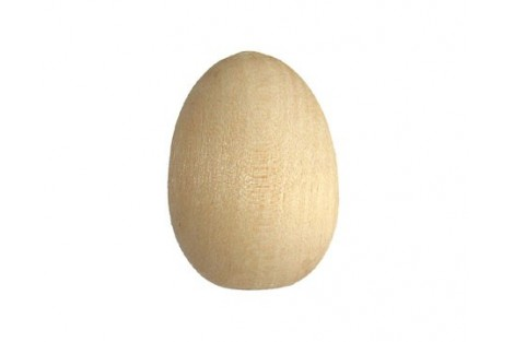 Wooden egg small 1416