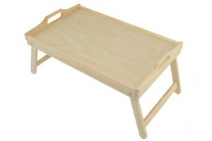 Pallet with legs - table to bed 1052
