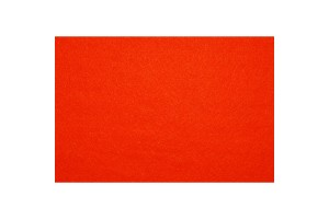 Artificial felt 3 mm. 30x45 cm. (Orange) F510340