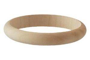 Medinė apyrankė 1 cm 1057