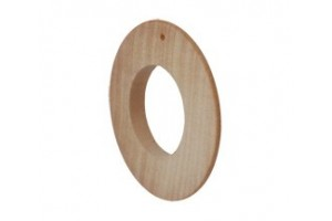 Base for earing 1067 (rounded  with hole)