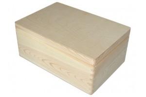 Medinė dėžė su dangčiu vidutinė 1076