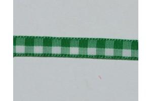 Juostelė matuojama, languota: žalia - balta,  storis - 7 mm., 1 metras,  LS177