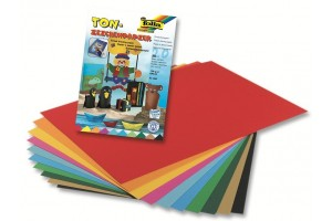 Colored paper set, A4, 20 sheets, 10 colors, F600