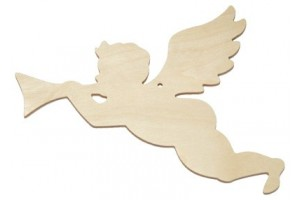 Dekoracija angelas skrendantis 1571