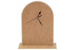 MDF Clock with Stand 1589