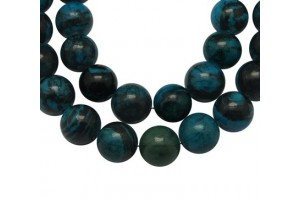 Natural stone bead,1 pcs., 12 mm., LS414