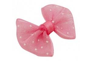 Kaspinas, rožinis, 20x23 mm., LS562