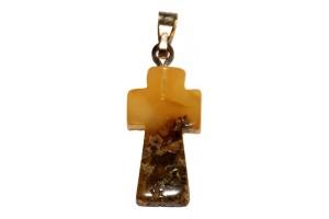 Amber cross