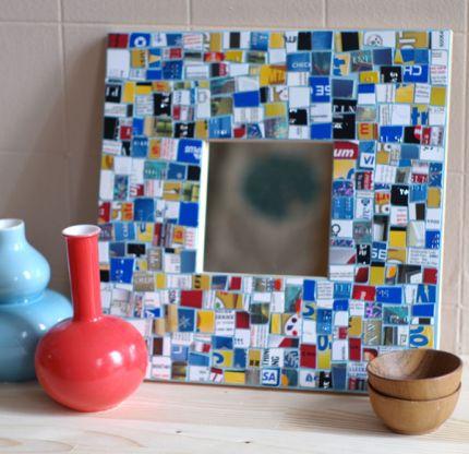 Mozaika idėjos, mozaika rėmelis