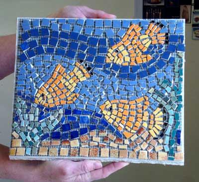 Mozaika - idėjos rankdarbiams