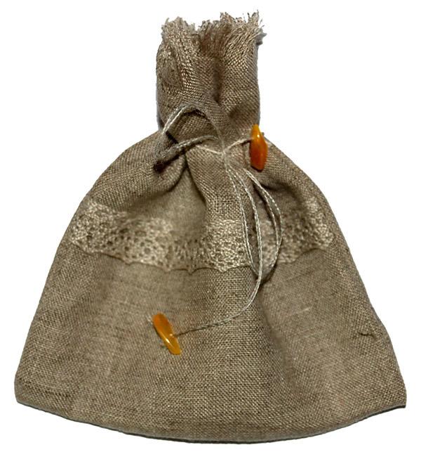 Lininis maišelis, siuvame pagal jūsų užsakymus