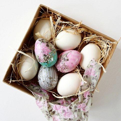 Kiaušinių dekupažas