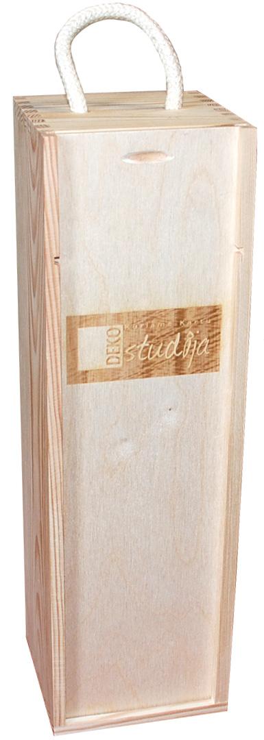 Vyno dėžė su logotipu