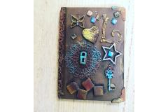 Mixed media art note book