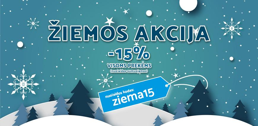 Žiemos akcija -15%