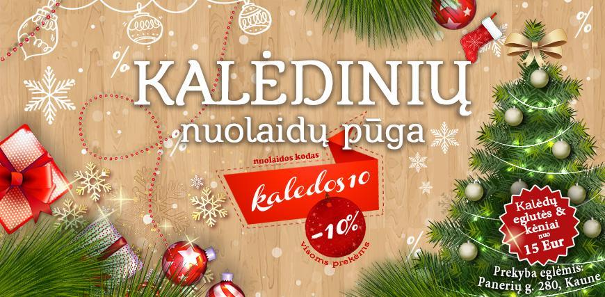 Kalėdos -10%